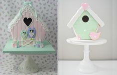 Lovebirds gingerbread house - Hľadať Googlom