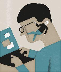 Aron Vellekoop León   Illustration - Economia Magazine - Retiring Minds