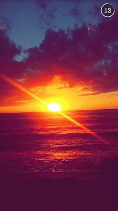 North shore Oahu sunsets