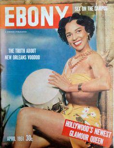 April 1951 Ebony Magazine -- Dorothy Dandridge cover  | eBay