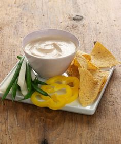 Chipotle Dip made with Chobani Greek Yogurt - perfect for passing at the party! Chobani Greek Yogurt, Greek Yogurt Recipes, Easy Appetizer Recipes, Appetizer Dips, Chipotle Dip, Chipotle Pepper, Pesto, Cooking Recipes, Healthy Recipes