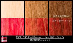Here's how #RedPassion will come out on different shades of blonde. Thank you for this pic, #ManicPanicJapan! #ManicPanic #Redhair