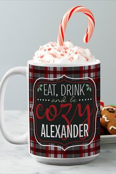 Escape the frosty weather with a mug meant for snuggling up with your favorite warm holiday drink. Holiday Drinks, Personalized Christmas Gifts, Holiday Wishes, Christmas Decorations, Holiday Decor, Feeling Special, Unique Gifts, Cozy