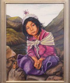 x acrylic on canvas, artist David Sherman, Central Oregon, Mona Lisa, Art Gallery, Fairy, David, Fantasy, Artist, Artwork, Painting