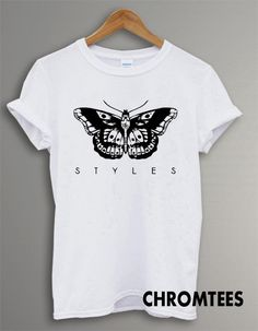 one direction shirt 1D tshirt harry styles tatto by Chromtees, $16.49