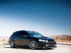 2005 Subaru Legacy GT station wagon