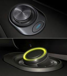 Details we like / Controls / Knob / Turn Wheel / light / Metal