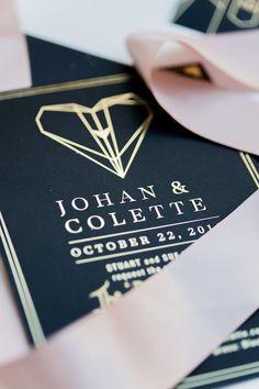Wedding Ideas: A Look Into Amazing Art Deco Weddings Great Gatsby Wedding, 1920s Wedding, Art Deco Wedding, Mod Wedding, Wedding Stuff, Dream Wedding, Wedding Day, Wedding Stationary, Wedding Invitations