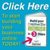 Ready to build your art and creative biz online?  Click here to get key steps to build your biz online and find your best customers! www.cbizschool.com