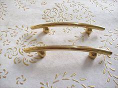 Maniglie in ottone Italia in alta qualità. maniglia oro