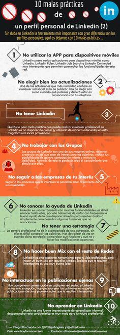 10 malas prácticas en Linkedin (2)