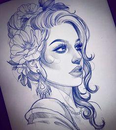 Sketch for my little sister @sennahoogkamer