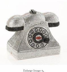 Timmy Woods Bag Diamond Phone with Stones