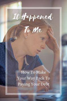 A great read about how she fell behind on her plan to pay off her debt - and how it's ok!