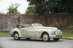 1950 Bristol 402 Drophead Coupé Project  Chassis no. 402/718 Engine no. 100A-3107