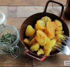Patatas al romero especiales para guarnición de platos de carne