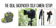 The Ideal Backpacker DSLR Camera Setup! - Appalachian Trials #Backpacking #DSLR #TRIPOD #Photography