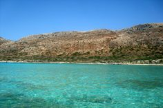 The sun and the beach and the water - amazing! Balos Lagooon - Greece 2014