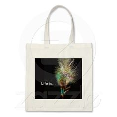 Bag with a Beautiful Feather
