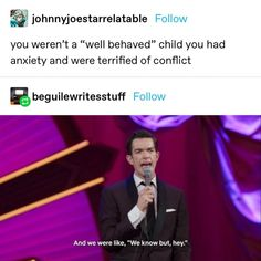 Funny Relatable Memes, Funny Posts, Funny Quotes, Stupid Funny, Hilarious, Funny Stuff, John Mulaney, Tumblr Funny, Really Funny