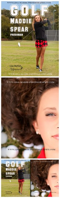 Golf click to see 21 senior picture ideas, #Portraits #Seniorpictures #golf www.Lisa-Marie-Photography.com