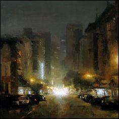 Cityscapes by Jeremy Mann