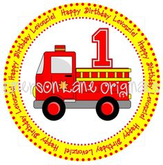 Fire Truck  FILE ONLY by EmersonLaneOriginals on Etsy, $5.00