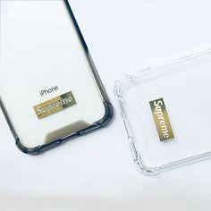 シュプリーム iphone X ケース クリア SUPREME IPHONE8 ソフトケース ロゴボックス