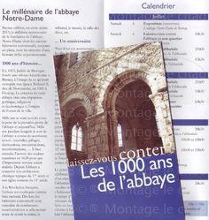 1000ans autour de l'abbaye de Bernay en 2013...
