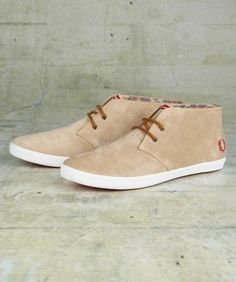 FRED PERRY : Byron Mid Suede