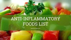 Eating anti-inflammatory foods can help in the management of fibromyalgia, pain can be kept at a lower level and nutrition is enhanced. Healthy Summer Recipes, Healthy Food Choices, Healthy Snacks, Anti Inflammatory Foods List, Diabetes, Keto, Alzheimer, Seasonal Food, How To Eat Paleo