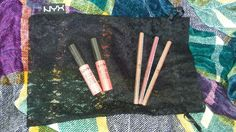 NYX soft matte lip cream:  SMLC03 ~Tokyo & SMLC05 ~Antwerp  NYX Waterproof Lip Liner:  MPL13 ~Vanilla Sky, MPL06 ~Nude Pink, and MPL10 ~Nude ;)  #nyxsoftmattelipcream #nyxlipliner #lippies #matte