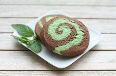 Chocolate-Mint Pinwheel Cookie