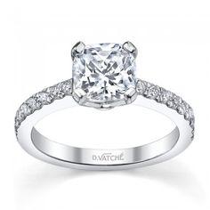 Design Collection Vatche Fifth Avenue Diamond Engagement Setting