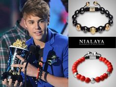 Justin Bieber with Nialaya