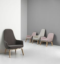 Buy Normann Copenhagen Era Lounge Chair High online with Houseology Price Promise. Full Normann Copenhagen collection with UK & International shipping. Design Furniture, Unique Furniture, Contemporary Furniture, Contemporary Armchair, Luxury Furniture, Lounge Chair Design, Lounge Chairs, Kartell, Traditional Furniture
