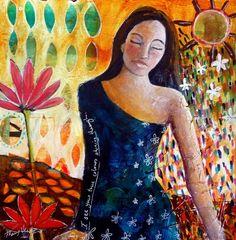 """True Colours"" by Tracy Verdugo . SOLD. http://artoftracyverdugo.blogspot.com"
