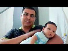 Como fazer o bebê arrotar em 20 segundos ou menos - YouTube