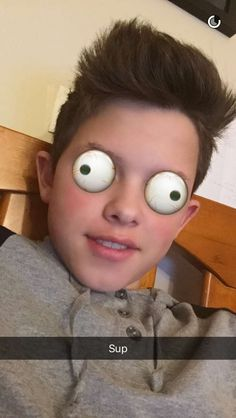 Kleiner Junge Selfies Snap Chat Fans Magcon Menschen Jacob Sartorius Singer