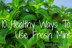 10 HEALTHY WAYS TO U