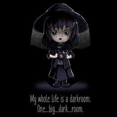 My Life Is A Darkroom - This official Beetlejuice t-shirt featuring Lydia Deetz is only available at TeeTurtle!
