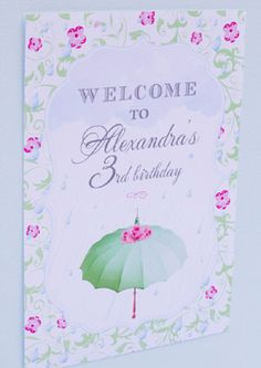 april showers bring baby flowers baby shower birthday printable flower set framed welcome sign