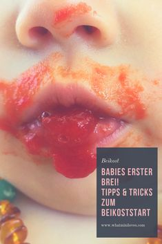 Der erste Brei ist nicht nur für die Babies, sondern auch für die Eltern ein großer Schritt. Alle Tipps & Tricks rund um den Beikoststart, findet ihr auf meinem Blog. #beikost #babybrei #blw #babyledweaning #familientisch Baby Led Weaning, Fingerfood Baby, Tricks, Blog, Peach, Babys, Posts, Recipes For Toddlers, Kid Recipes