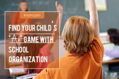 Helping your older child get organized for school!