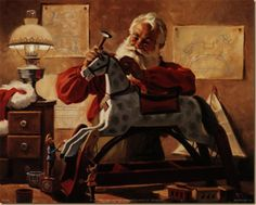 Tom Browning Santa Claus Prints - Bing Images