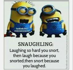 Snaughling minions