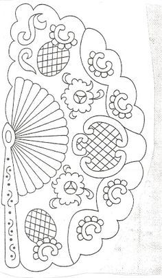pergamano - Page 19 Embroidery Designs, Embroidery Transfers, Hand Embroidery, Hand Quilting Patterns, Craft Patterns, Parchment Design, Paper Art, Paper Crafts, Whole Cloth Quilts