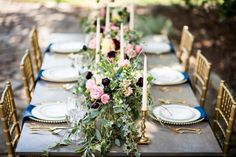 What's not to love about this gorgeous winter fête at Goodwin Manor?