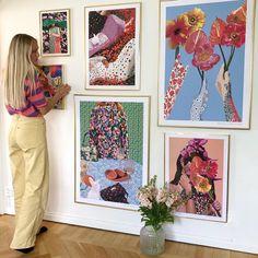 Rixo x Astrid Wilson Art Prints