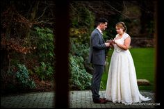 Just checking they really did it. Rivervale Barn wedding - http://www.rogerspictures.com/rivervale-barn-wedding-photography